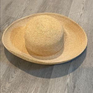 Annabel Ingall Australia Packable straw hat